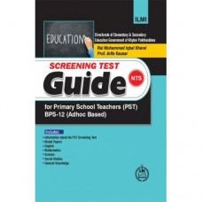 Ilmi NTS Screening Test Guide for Primary School Teacher (PST) BPS-12 (KPK)